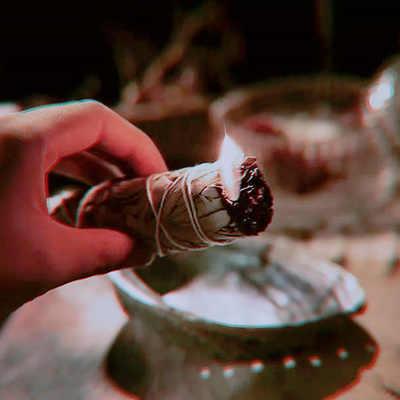 متعددة قطع الأبيض حكيم كاليفورنيا الأبيض حكيم ورقة نقية الدخان تنقية الأبيض حكيم التدخين الشحن السريع