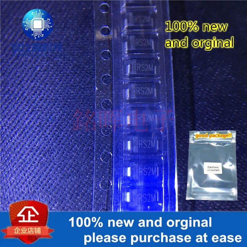 20pcs 100% New And Orgianl FR207 RS2M SMA DO-214AC 2A 1000V In Stock