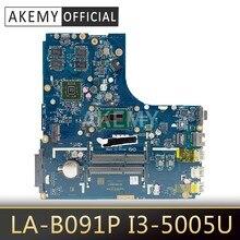 Новая Mainboard для Lenovo Ideapad B50-70 материнская плата для ноутбука ZIWB2/ZIWB3/ZIWE1 LA-B091P I3-5005U 2GB GPU