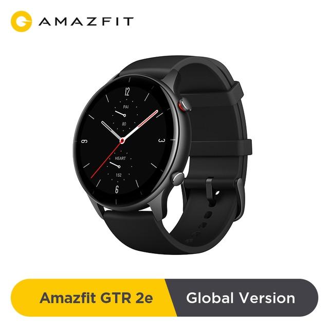 2021 Global Version Amazfit GTR 2e Smartwatch 24 Days Battery Life 2.5 D Glass 90 Sports Modes Alarms Bluetooth 5.0 Smart Watch