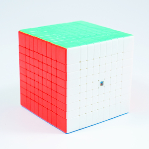 Image 2 - Originele Moyu MF9 9X9X9 Cube Magic Mofangjiaoshi Cube Meilong 9 Lagen 9X9 Speed Puzzel blokjes Vorm Twist Educatief Speelgoed