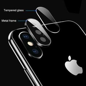 Image 4 - 뒤로 카메라 렌즈 보호대 iphone 11 x xr xs 용 보호 유리 iphone 11 Pro max의 최대 강화 유리 flim 보호 유리