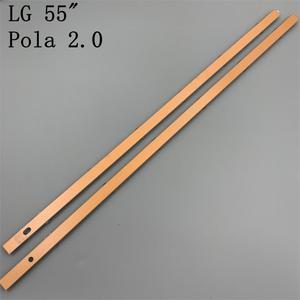 """Image 5 - 12 Lamps LED Backlight Strip For LG 55LA616V 55LA6200 55LA6205 55LA6208 55LA620S  ZA UA Bar Kit Television LED Band Pola 2.0 55"""""""