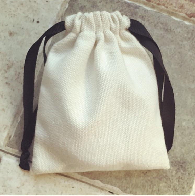 Jewelry Cotton Gift Bag 5x7cm(2