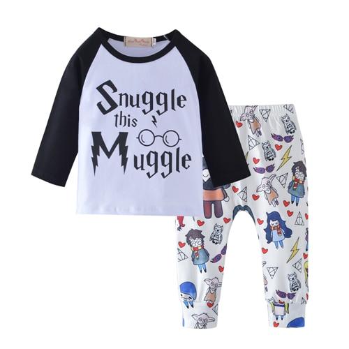 Papa Shark Doo Doo Doo Kids Cotton,Long Sleeve Infantile Suit