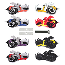 3D New Super Bee SCAT PACK Front Grill Emblem Hornets Metal Badge Sticker Universal