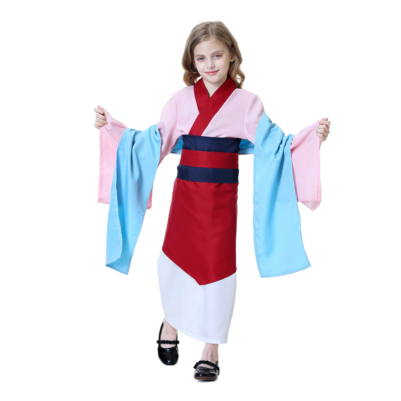 Hua Mulan Cosplay Costume Red Hero Halloween Fancy Dress Party Costumes New Classic 2020 Movie Character Girls Girls Costumes Aliexpress