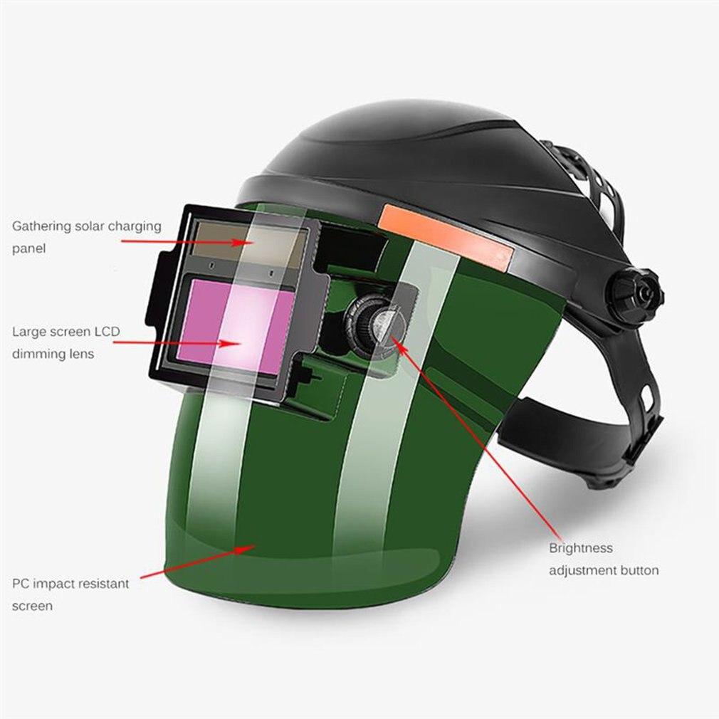 Солнечная полностью автоматическая затемнение регулируемый диапазон флип электрическая сварочная защитная маска шлем объектив для сваро...