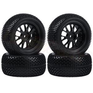 4pcs/Lot 75x33mm Tires & Alumi