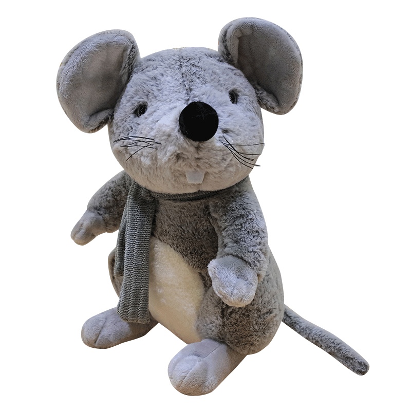1pc  Simulated Mouse Super Soft Plush Mouse Plushy Doll Stuffed Rat Plush Animal Toy Peluche Mascot