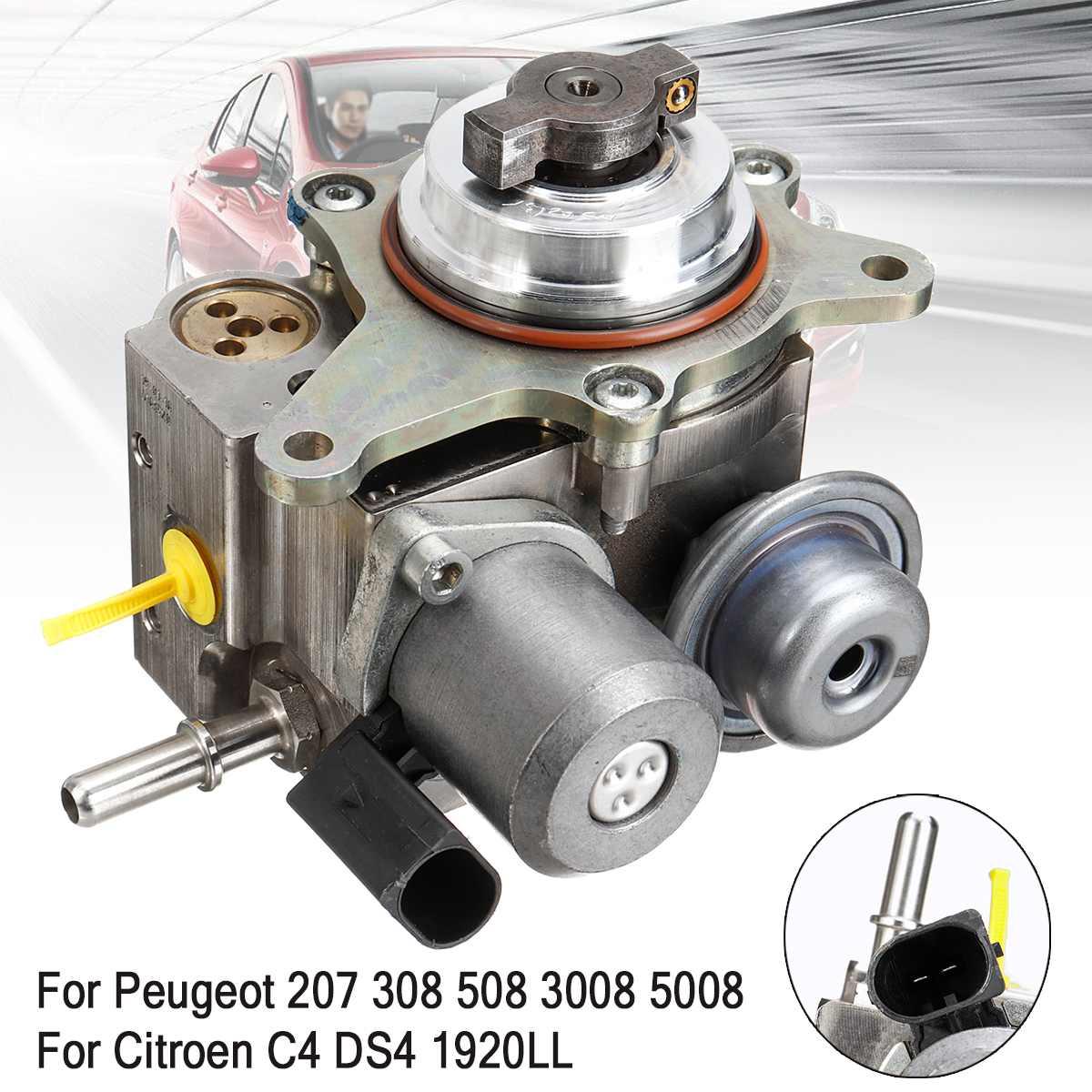 Benzyna ciśnienia pompy paliwa 9819938480 13537528345 dla Peugeot 207 308 3008 5008 508 1.6T Mini R55 R56 R57 R58 Cooper CITROEN C4