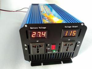 Image 2 - Inversor de potencia de onda sinusoidal pura, fuente de alimentación de transformador de voltaje DC a AC 3000W