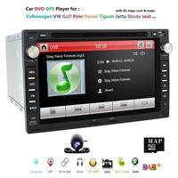 Ossuret WINCE V W Radio Car DVD Navigation For V W Passat JETTABora Polo GOLF CHICO SHARAN GPS Navigation SWC DAB+ RDS USB BT SD