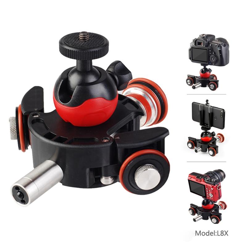 Universel pour caméra panoramique pour Canon pour Sony DSLR caméra électrique vidéo Dolly Track curseur systèmes de Rail de glissière motorisés