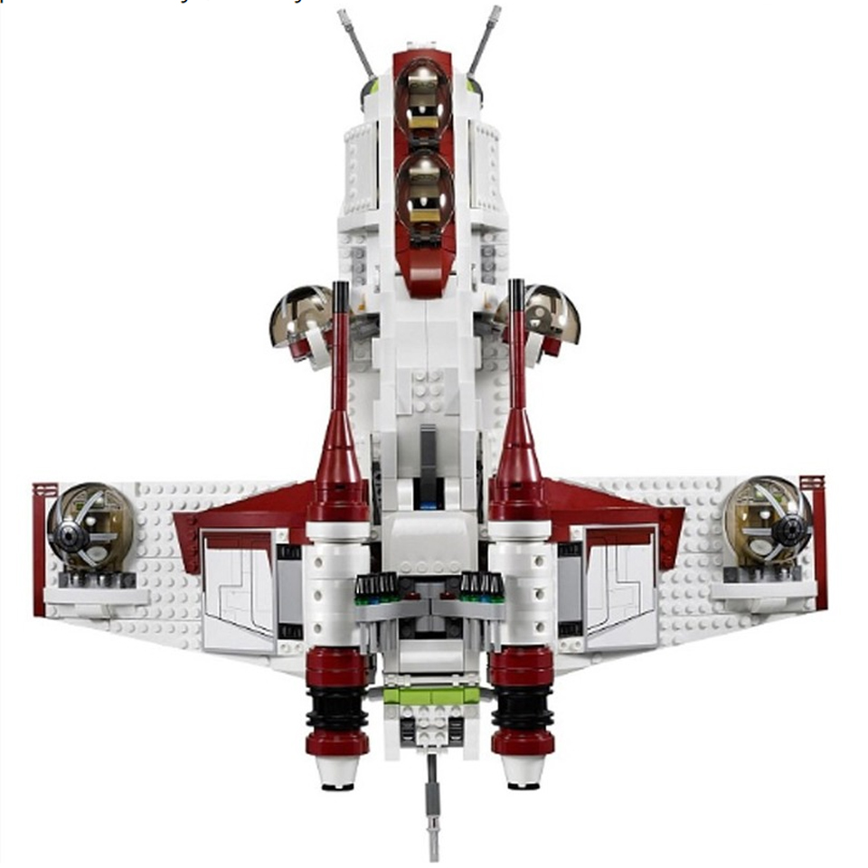 <font><b>05041</b></font> <font><b>Star</b></font> <font><b>Wars</b></font> Republic Gunship Set StarWars With Lepining Building Blocks 75021 Ship For Children Educational Blocks Toys image
