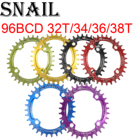 SNAIL Oval Chain rin...