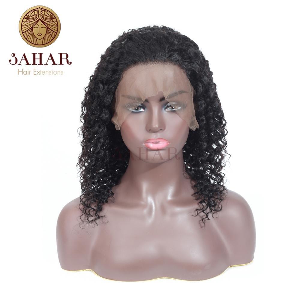 Hair-Wigs Full-Lace 100%Human-Hair-Piece Sahar for Black Women Nature-Color Non-Remy-Hair