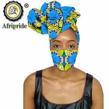 Бандана и маска для головы Анкары в африканском стиле ручная
