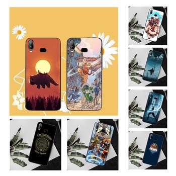 NBDRUICAI, funda de teléfono negra suave de Avatar The ultimate airdobler para Samsung A10, A20, A30, A40, A50, A70, A71, A51, A6, A8, 2018