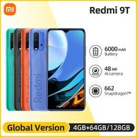 Globale Version Xiaomi Redmi 9T 4GB 128GB Smartphone 6000mAh Snapdragon 662 48MP Hinten Kamera Nicht NFC