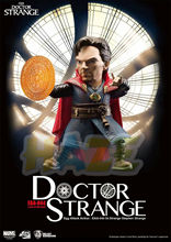 Marvel Doctor Strange Q Ver. Attack pvc  Action Figure Model Movable Toy Collection Marvel Figure Toys Doll In Box 10cm