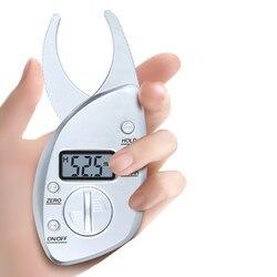 Fat Meter Digital Fat Caliper 0-50mm Fat Clip Sebum Clip Body Fat Clamp Fat Forceps Skinfold Thickness Measurement