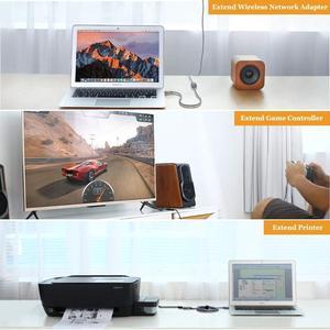 Image 4 - Dây Cáp USB 3.0 Nối Dài Cáp Mở Rộng Cho Bàn Phím TV PS4 Xbo Một SSD USB3.0 2.0 Mở Rộng Dữ Liệu Dây Mini USB cáp Nối Dài