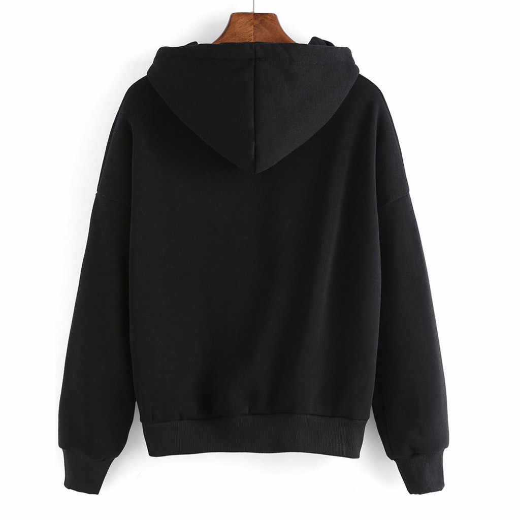 MISSOMO Gothic hoodies 여성 운동복 프린트 oversized hoodie 하라주쿠 스웨터 긴팔 편지 프린트 풀오버 탑 103