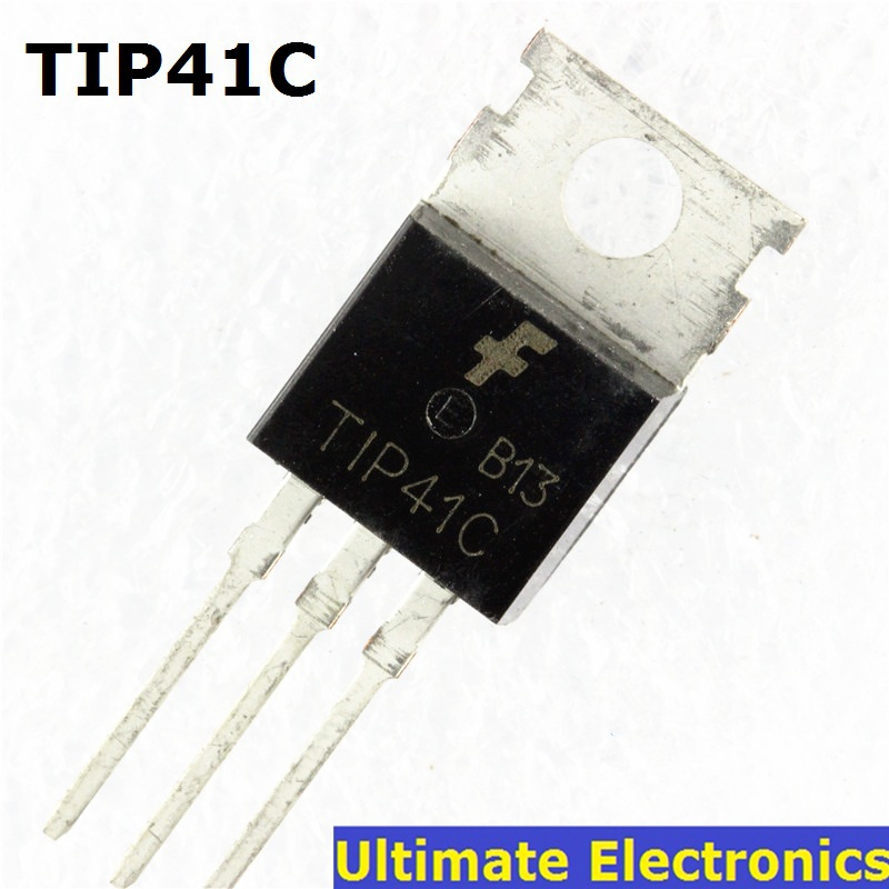 10pcs  TIP41C TIP41 NPN Transistor TO-220 NEW