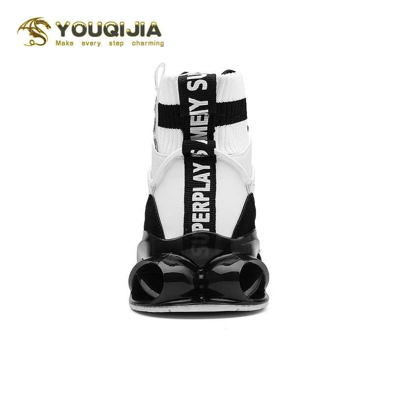 Rahat spor ayakkabı erkekler açık koşu yürüyüş ücretsiz çalışan erkekler Lace-up Athietic nefes bıçak Sneakers Tenis Masculino
