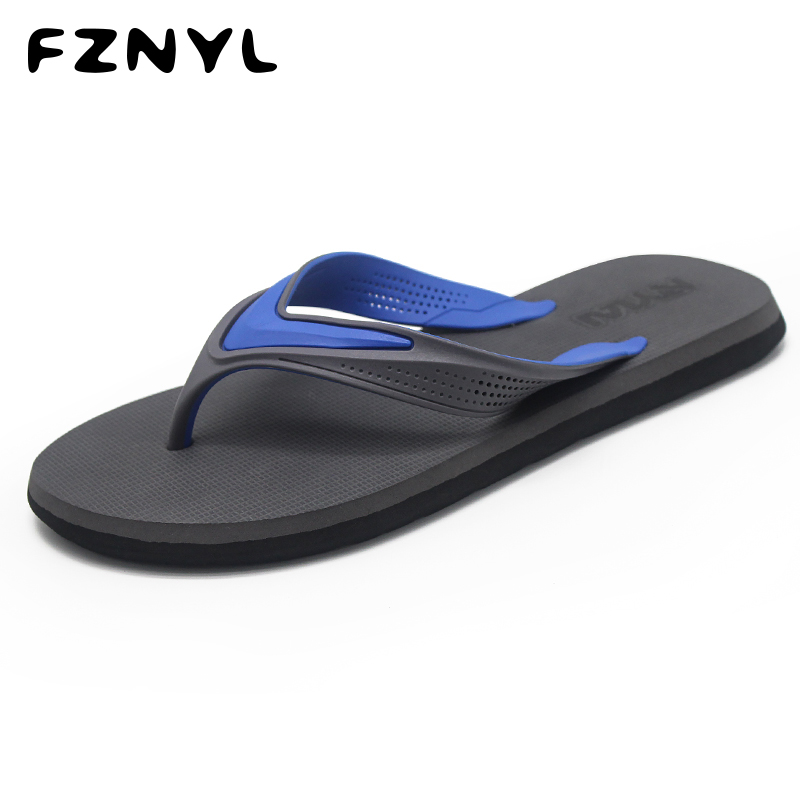 FZNYL Women Men Slippers Casual Indoor Home Bath Beach Flip Flops Non-slip Rubber Fashion Summer Outdoor Sandals House Shoes
