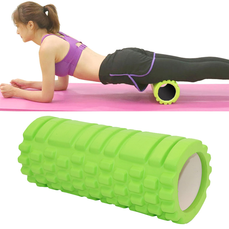 Fitness High Density Foam Roller Exercise Back Muscle Pilates Yoga Training Massage Physiotherapy EDF88
