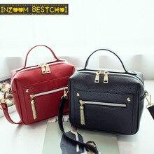 Women New Fashion Pu Leather Solid Women's Handbags Ladies Shoulder Messenger Shopping Bag Casual Bolsos Mujer Bolsa Feminina