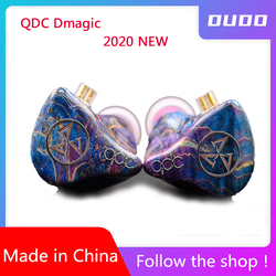 QDC Dmagic 2020 New 3D HIFI headset three-unit Pure dynamic headphones 8mm composite diaphragm First payment