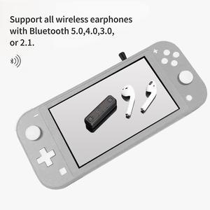 Image 3 - Беспроводной аудио адаптер GuliKit NS07 Pro Route Air, Bluetooth передатчик с поддержкой голосового чат, USB C адаптер для Nintendo Switch PS4