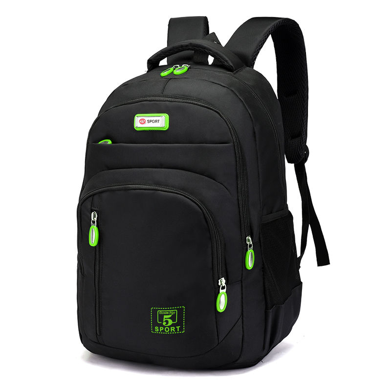 Men's Backpack Oxford Cloth Material British Casual Fashion Academy Style Large Capacity Multifunctional High Quality Design