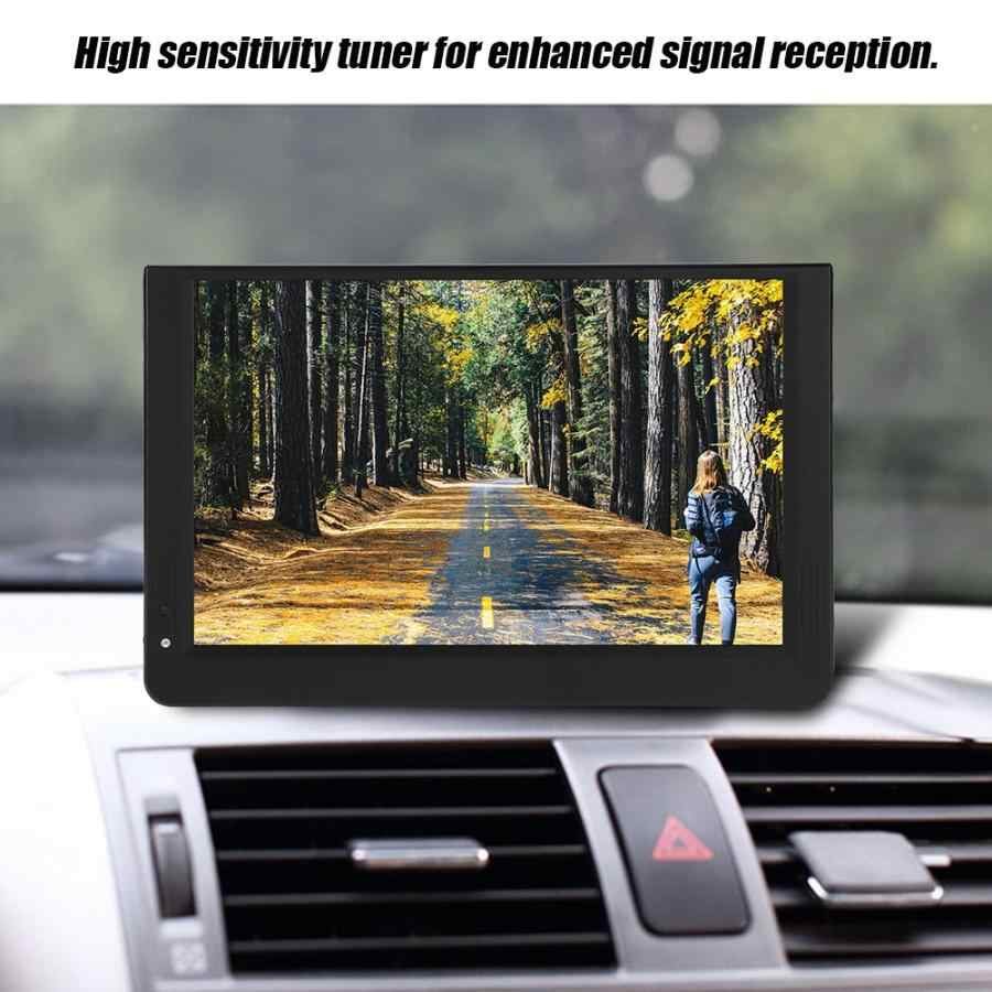 LEADSTAR 12-cal przenośny cyfrowy i telewizja analogowa 16:9 1080P LED ręczny DVB-T/T2 telewizja cyfrowa odtwarzacz telewizyjny Mini telewizor samochodowy UK wtyczka
