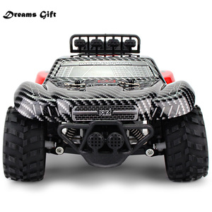 2.4GHz Wireless Remote Control Desert Truck 18km/H Drift RC Off-Road Car Desert Truck RTR Toy Gift Up to Speed gifts for boys