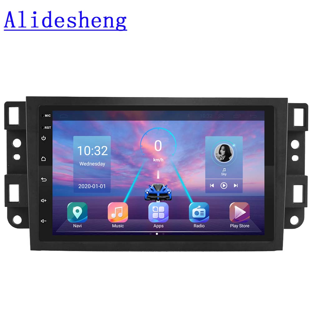 For Chevrolet Captiva Aveo Lova Gentra Epica Android 9.0 DSP Car Radio Multimedia Video Player 2006 2012 radio Navigation GPS|Car Multimedia Player|   - AliExpress