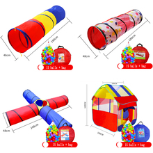 Heißer Verkauf Kinder Spielzeug Crawling Tunnel Kinder Outdoor Indoor Spielzeug Tube Baby Spielen Kriechende Spiele Jungen Mädchen Beste Geburtstag Geschenk