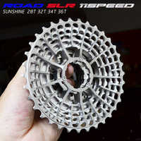Free Shipping SLR 11s -28T Cassette Racing Speed Gravel Bike -36T -34T Ultralight K7 V -32T CNC Flywheel