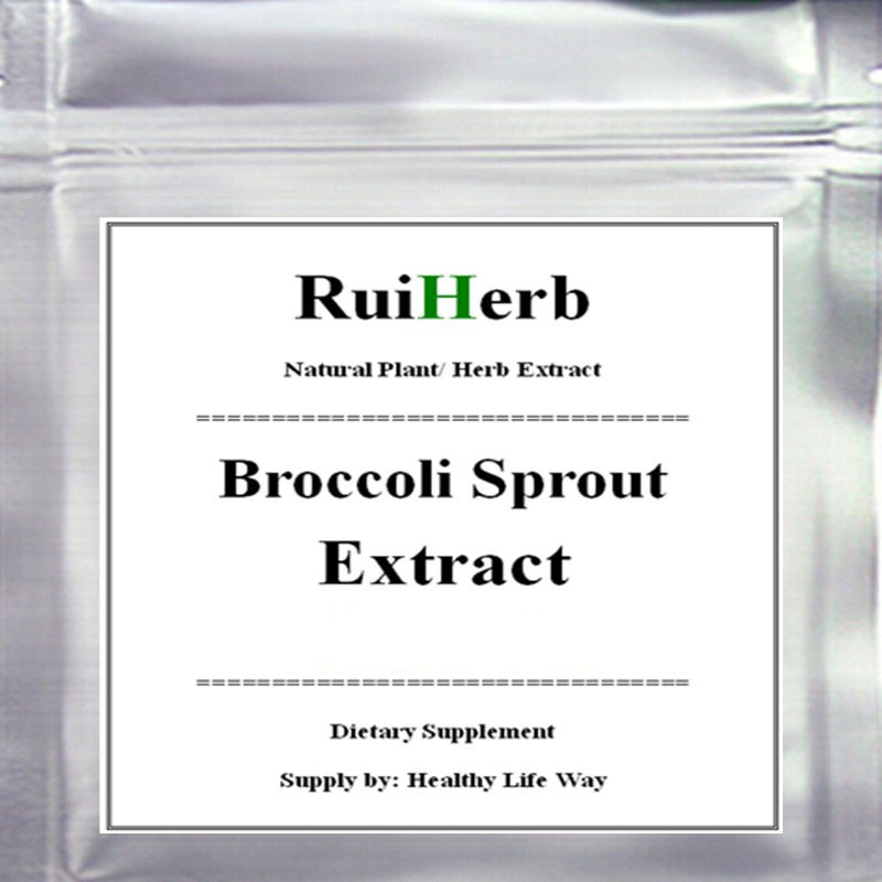 1000gram Organic Broccoli Sprout Extract Powder 0.4% SULFORAPHANE Green Superfood free shipping image