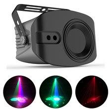 48 + 4 padrões rg luz do projetor laser luzes de discoteca dj rgbw festa iluminação para palco dj discoteca decoração com som ativado