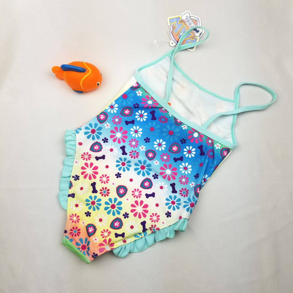 Ocean Fry Swimming Pool Baby Bathing Suit KID'S Swimwear Bikini Swimwear GIRL'S One-piece Swimming Suit