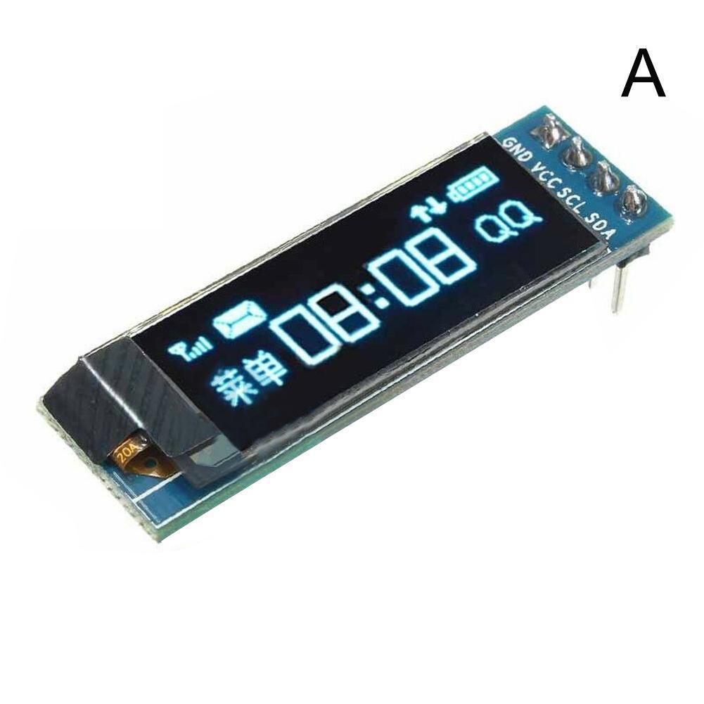 0.91inch OLED Module White/blue 128 x 32 OLED LCD LED Communicate Module Display For Ardunio IIC K8X8