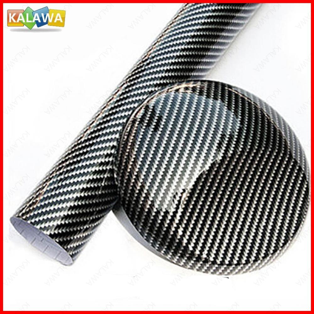 2d 3d 4d 5d 6d ultra brilhante fibra de carbono vinil adesivo liberação de drenagem ar bolha livre envoltório do carro rolo filme motocicleta preto decalque