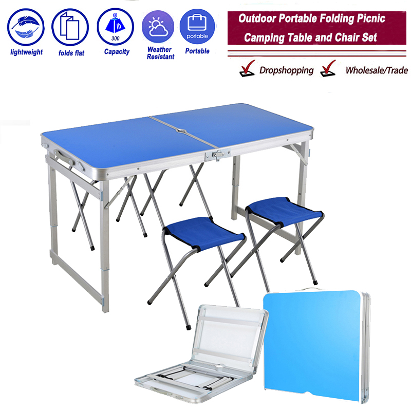 Clearance SalePicnic Table Chair Ultra-Light Aluminium-Alloy Outdoor Waterproof Camping