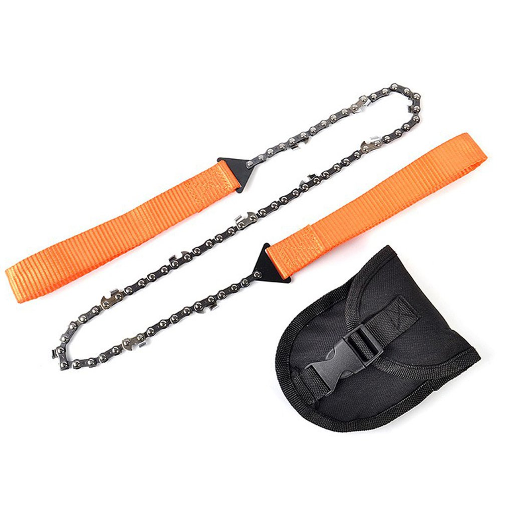 Outdoor Camping Hand Chain Saw Portable Saw Survival Tool Manual Pruning Saw Multi-Function Wire Saw Pocket Saws