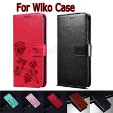 Odwróć etui na Wiko zobacz 3 4 Lite 5 Plus pokrowiec na portfel skórzany książkowy Funda na Wiko Y81 Y61 View3 View4 Sunny 5 Case Hoesje Bag