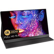 EVICIV – écran Portable 4K HDR IPS 15.6 de 100% pouces, mini DP, HDMI, type-c, moniteur Portable, gamme de couleurs, Adobe USB C